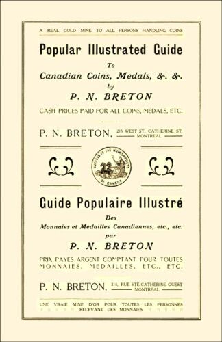 2014 Edition 1912 Breton Reprint with Prices for Canadian Tokens