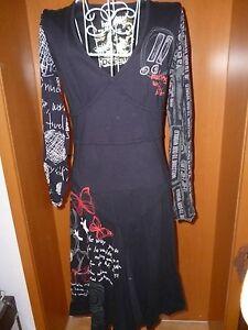 ausgefallenes Desigual Kleid Gr S schwarz / bunt - Bruchsiedlung, Deutschland - ausgefallenes Desigual Kleid Gr S schwarz / bunt - Bruchsiedlung, Deutschland