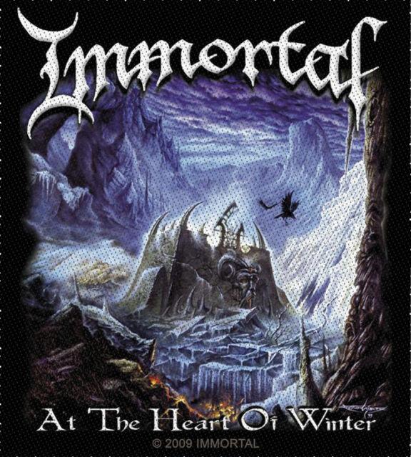 Immortal - At The Heart Of Winter Aufnäher Patch Black Metal Heavy Kutte NEU