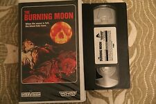 The Burning Moon Mondo Video Clam shell Horror Gore Rare VHS