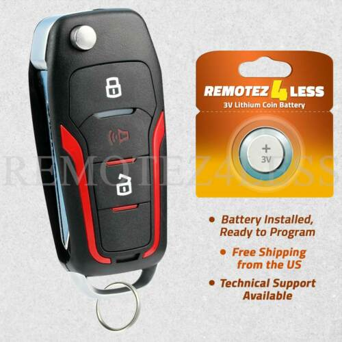 For 2006 2007 2008 2009 2010 2011 2012 Ford Focus Remote Key Fob 80 Bit