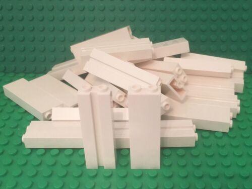 Lego X24 New White 1x2x5 Brick W// Groove Wall Columns Pillar Garage Support
