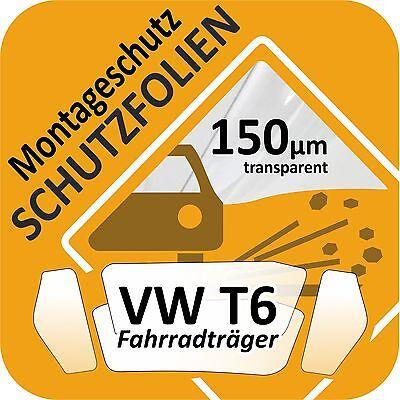 Recubrimiento protector protección de montaje portabicicletas radträger Heck portador furgoneta VW Bully t6