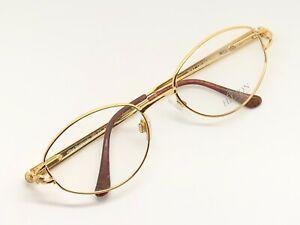 Vintage-Hilton-Montecarlo-352-1-Oval-Eyeglasses-Brille-Lunettes-Optcial-Frame-RX
