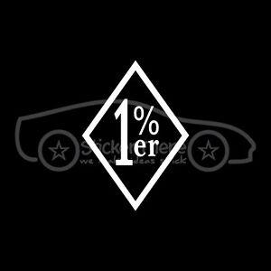 1-ER-One-PERCENTER-Sticker-Vinyl-Biker-Truck-Decal-Car