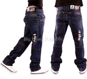Money Time Is Blue Star Kenet Peviani Mens Jeans Rock Star Urban Hip Hop