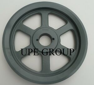 """Cast Iron pulley SHEAVE   7.25/"""" for electric motor 2 groove for 3L 4L /& A  belts"""