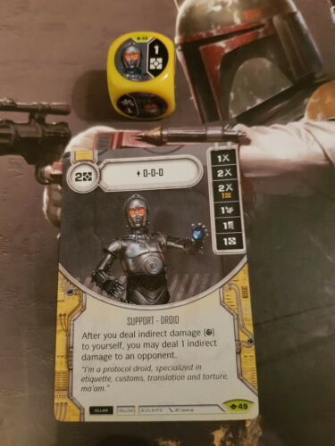 Way of the Force #49 Star Wars Destiny 0-0-0