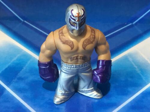 WWE MATTEL Rumbler tra Mini Figura WRESTLING//CAKE TOPPER-Cena all/'Rock MYSTERIO Punk