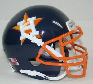 Houston Astros Schutt Mini FOOTBALL Helmet
