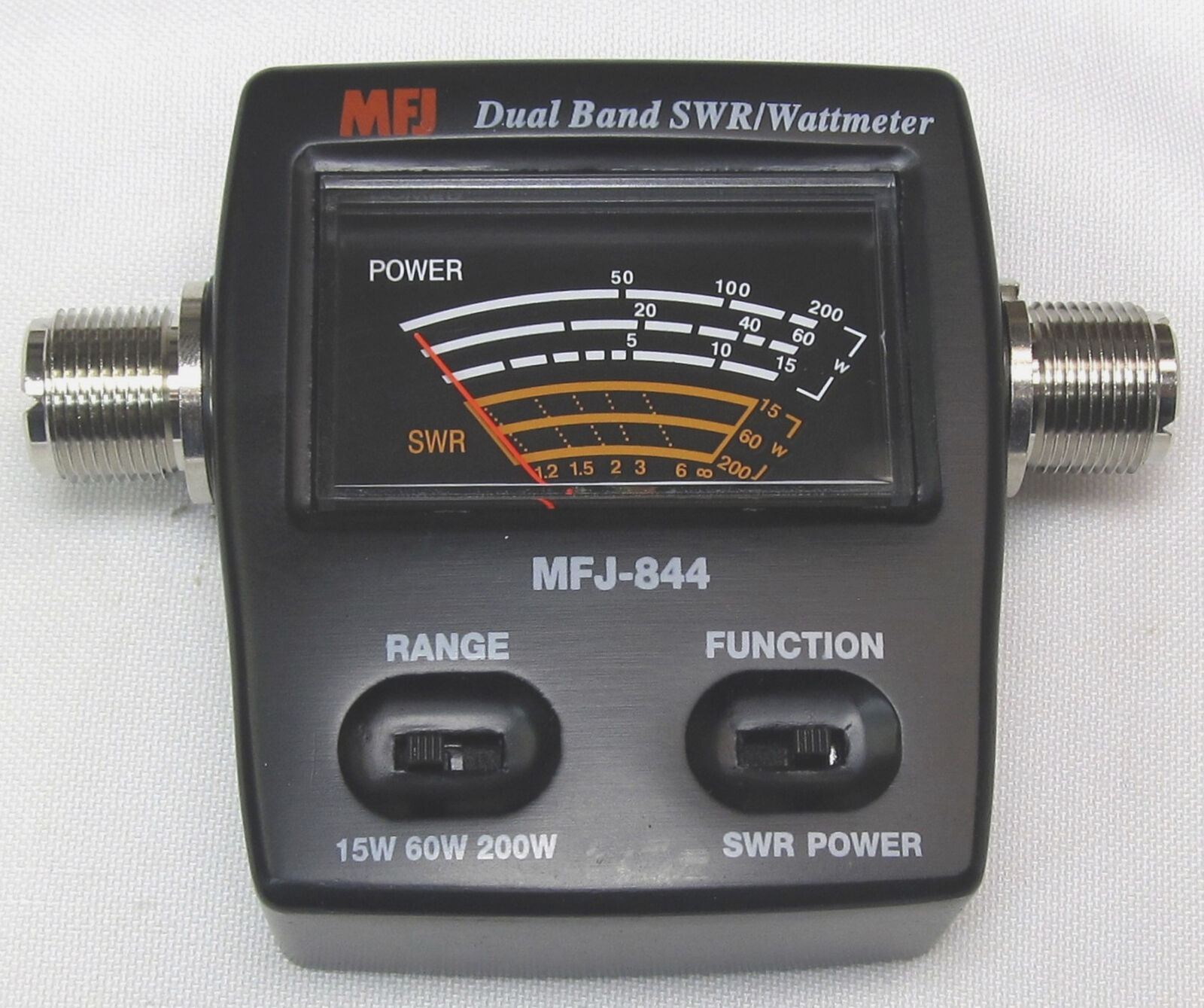 MFJ-844 VHF/UHF In-Line SWR/Wattmeter with SO-239 Connectors. Buy it now for 89.95
