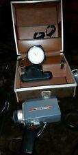 Vintage yashica super 30 movie camera, smith victor super 8 Q1U 650w lamp