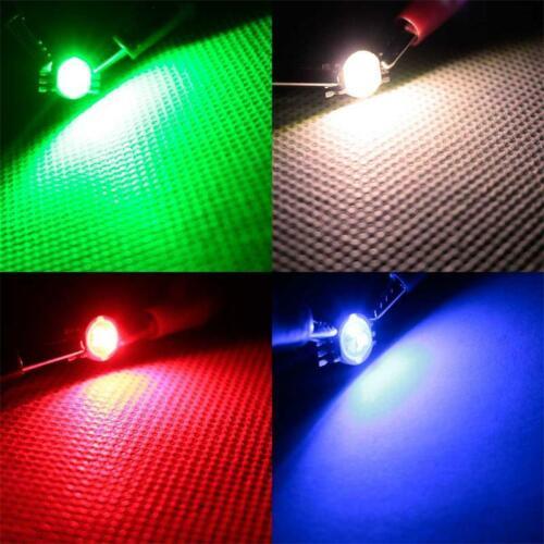 Power DEL 1 Watt Power émetteur PUCE Haute Performance DEL 1 W différentes couleurs