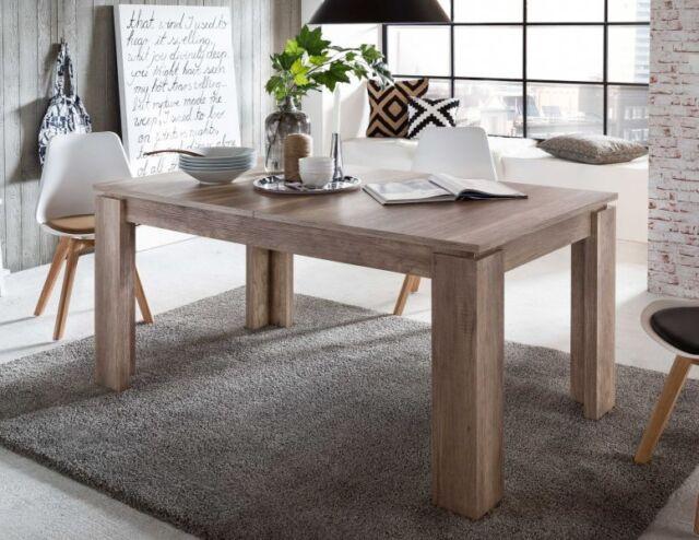 Esstisch Esszimmer Tisch Ausziehtisch Eiche ausziehbar 160 - 200 cm Küchentisch