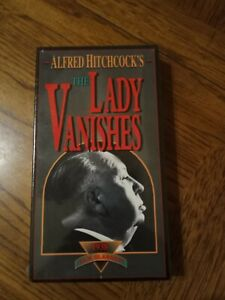 Alfred-Hitchcock-039-s-The-Lady-Vanishes-VHS-1938-Brand-New-Mystery-Free-Shipping