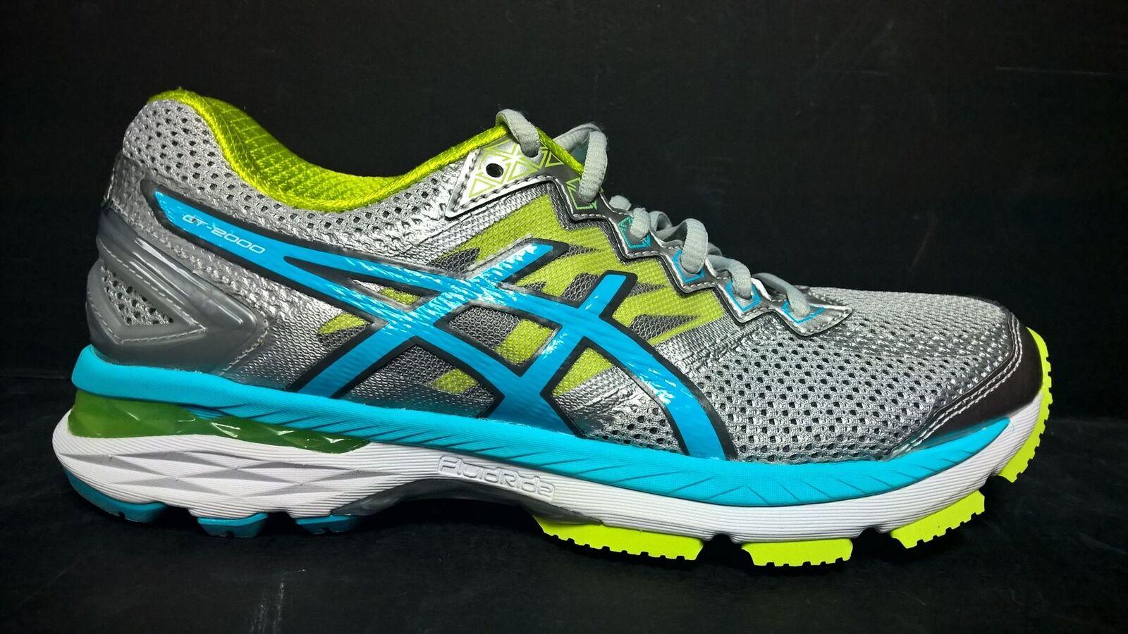 Asics Women's Size 6 GT 2000 4 Running Shoe T656N 9342 Gray Blue
