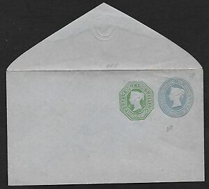 Great Britain covers 1Sh+2Pence imprinted classic cover not sent