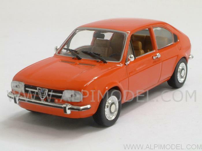Alfa Romeo Alfasud 1974 rouge Corallo 1 43 MINICHAMPS 400120104