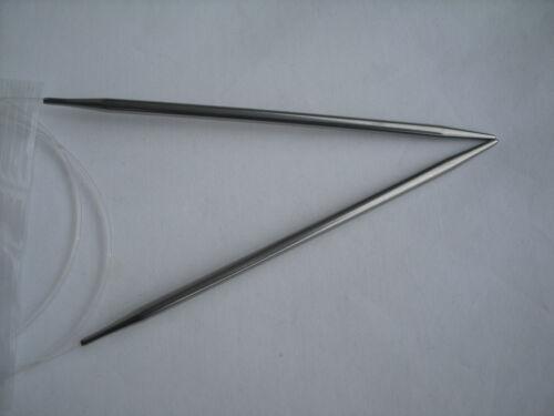 "HiyaHiya 4.0mm x 80cm Stainless Steel Circular Knitting Needles 32/"""