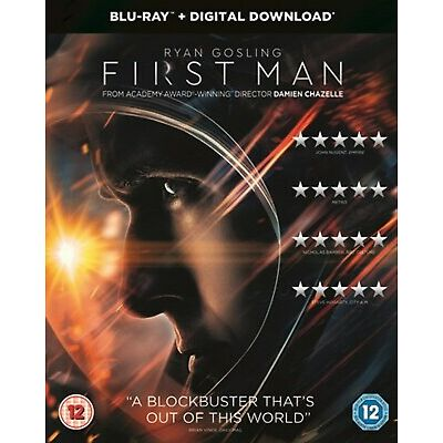 First Man (with Digital Download) [Blu-ray]