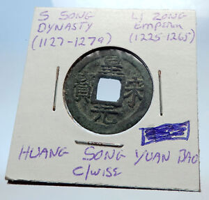 1225AD-CHINESE-Southern-Song-Dynasty-Genuine-LI-ZONG-Cash-Coin-of-CHINA-i71494