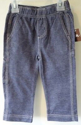 New In Bag Lands/' End Heather Gray Flare Yoga Pants ~ Sz 2T