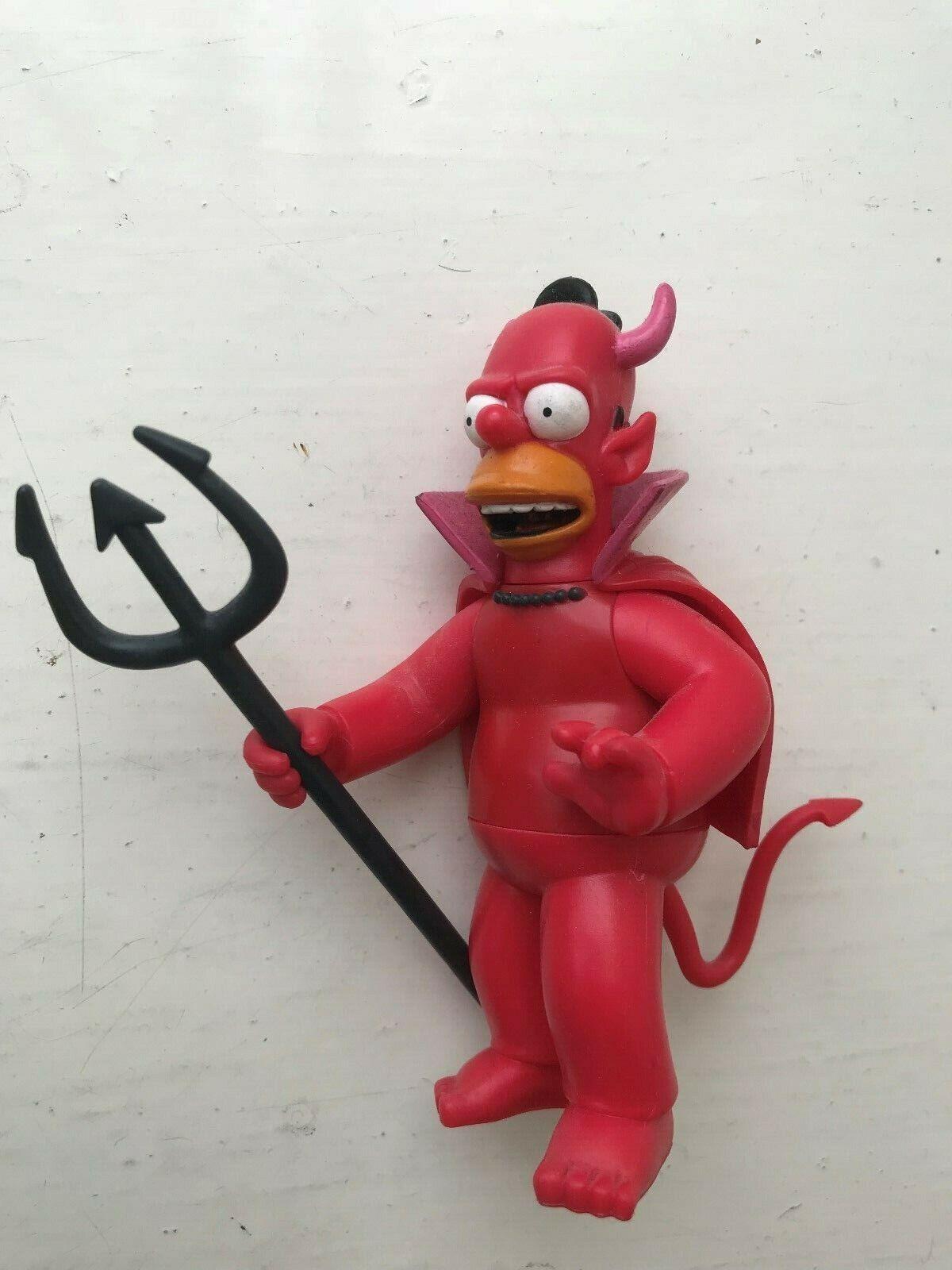 PLAYMATES INTERATTIVO I SIMPSON SERIE 16 EVIL  DEVIL Homer azione cifra WOS  per il tuo stile di gioco ai prezzi più bassi