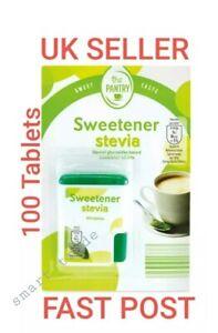 Stevia-Dolcificante-Tablet-naturaldiabetic-100-Compresse