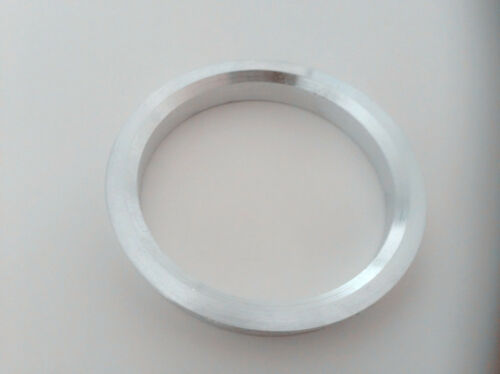 A set of 4pcs Aluminum HUB CENTRIC HUBCENTRIC RING RINGS ID 67.1mm to OD 74.1mm