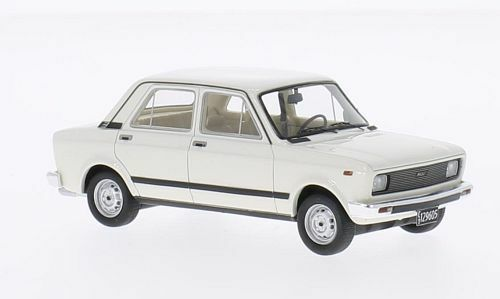 Fiat 128 CL 1978 White 1 43 Model NEO SCALE SCALE SCALE MODELS ae13f1