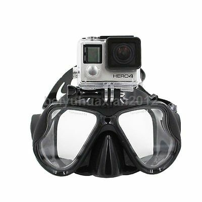 Spearfishing Freediving Snorkeling Fish Eyes Dive Scuba Diving Mask  For Gopro
