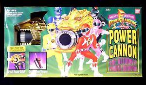 Morphin Power Rangers Cannon Bandai Nouveau 2253 Fs Mib 1994 45557022532