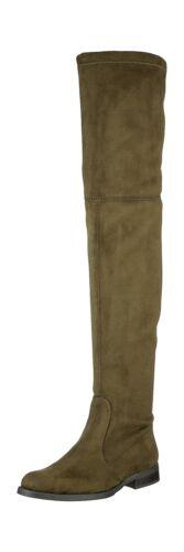 Buffalo Micro Green 5 Women's khaki Boots Strech 3 0 2870 13 Uk fEqEcrX