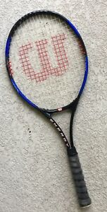 "Wilson Titanium Softshock Energy Tennis Racquet 4 1//4/"" With Cover"