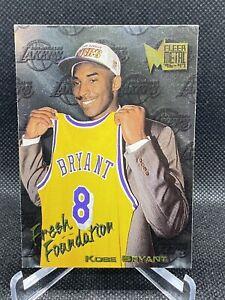 1996-97-Kobe-Bryant-Fleer-Metal-137-Fresh-Foundation-ROOKIE-CARD