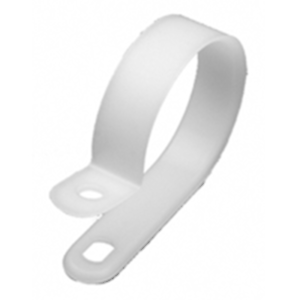04-CCL23759 CABLE CLAMP 3//8 INCH DIAMETER NATURAL NYLON 100//BAG