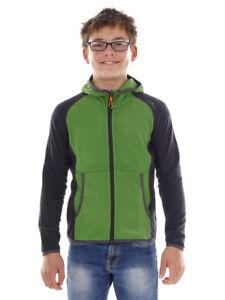 CMP Polaire Sweatjacke Tricot Veste Fonction Veste Bleu Chaud Confortable