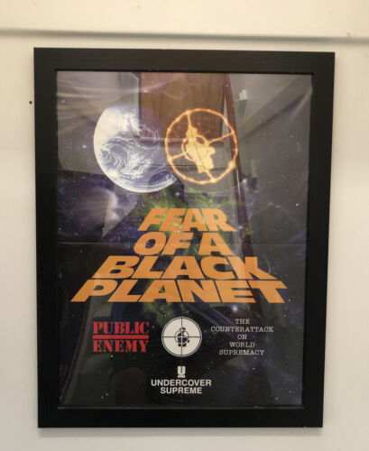 Supreme Public Enemy Undercover Poster and Frame