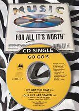 Go Go's (Belinda Carlisle) - We Got The Beat / Our Lips Are Sealed CD Single