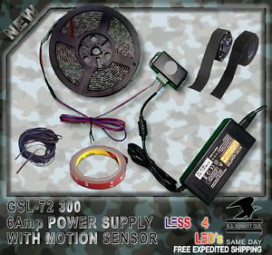 Prewired-Gun-Safe-Light-5730-300-leds-Motion-sensor-Switch-Flexible-LED-Strip