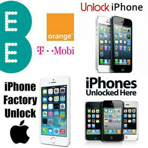 EE/T-Mobile/Orange iPhone Unlock Service For iPhone 4/4s/5/5s/5c/6/6s/6+/6s+/se