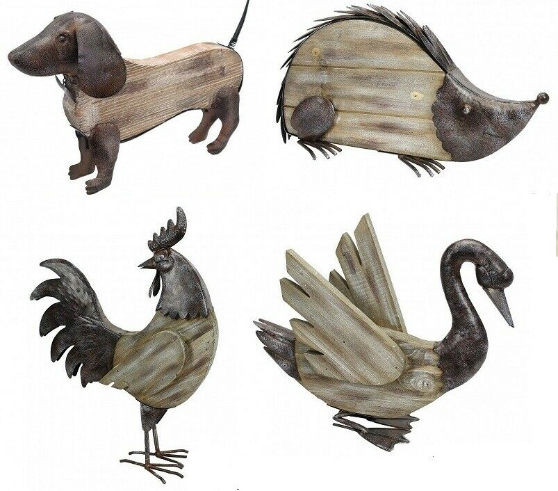 punto vendita Primus RUSTICO Range    legno metallo Ornamenti Da Giardino  Swan RICCIO Bassotto Gufo  punti vendita