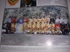 FOOTBALL COUPURE LIVRE PHOTO COULEUR 20x10 D2 GrA US ORLEANS 1989/1990