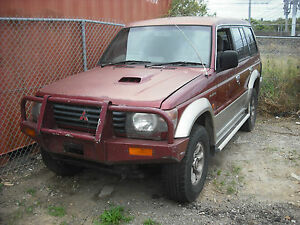 1995-MITSUBISHI-PAJERO-COLLECTION-OF-PARTS-LIGHTS-AIR-COND-FRONT-PARTS