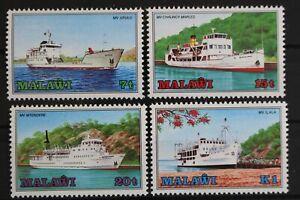 Malawi-Schiffe-MiNr-449-452-postfrisch-MNH-628857