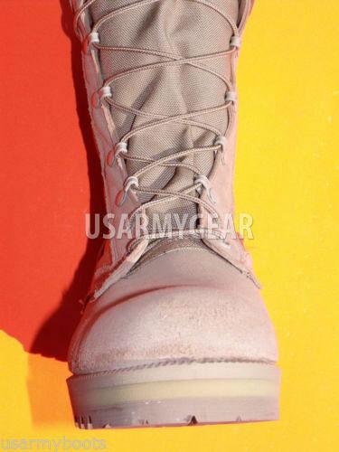 Hergestellt in den USA militärische ACU Desert Tan Armee Combat Flight Work Stiefel Wildleder VIBRAM S