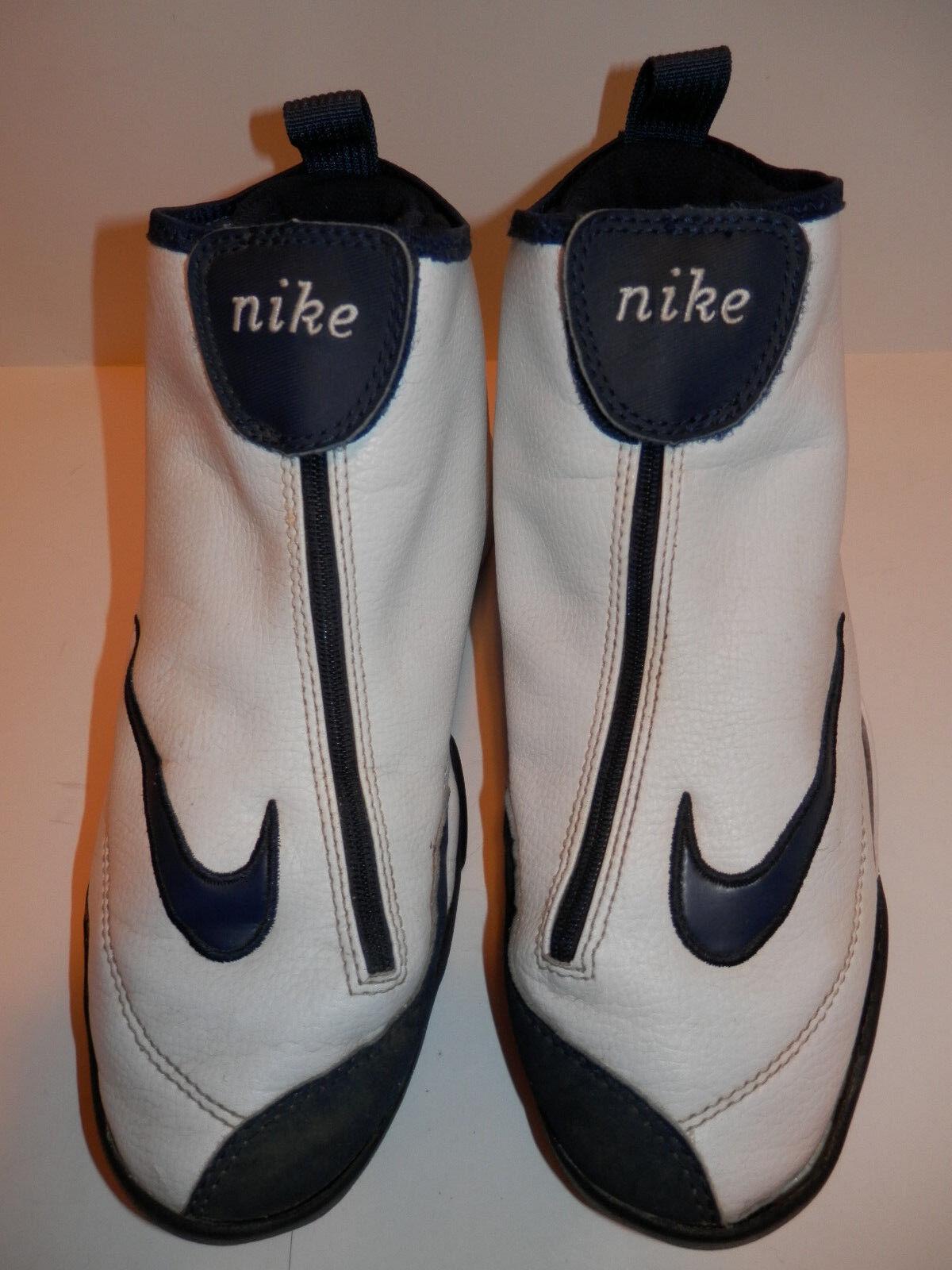 Nike uomini scarpe da basket 8 ripropone og 1999, figlio di guanto bianco blu gary payton