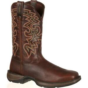 Rebel™ By Durango® Dark Brown Pull On Western Boot by Durango