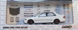 Inno-Honda-1992-Civic-Ferio-SiR-EG9-White-1-64-DIECAST-CAR-MODEL-BRAND-NEW