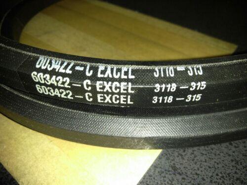 "NEW EXCEL Deck 72/"" Rear Discharge RH Belt 603422"